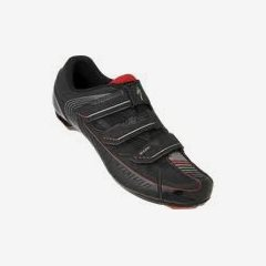 SPORT RD SHOE BLK/RED 45/11.5