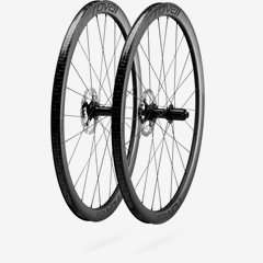 C 38 DISC WHEELSET SATIN CARBON/BLK